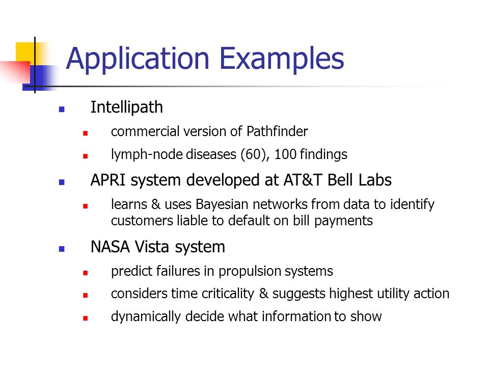 Application Examples Intellipath