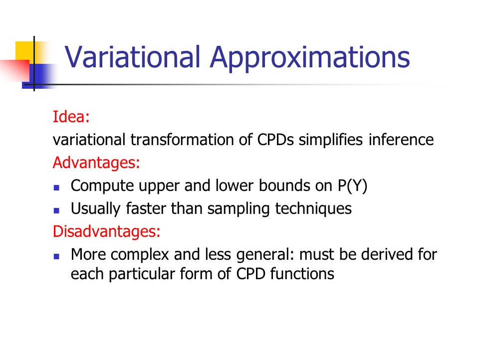 Variational Approximations