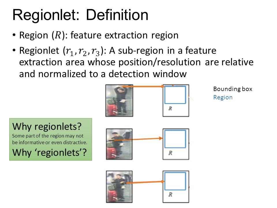 Regionlet: Definition
