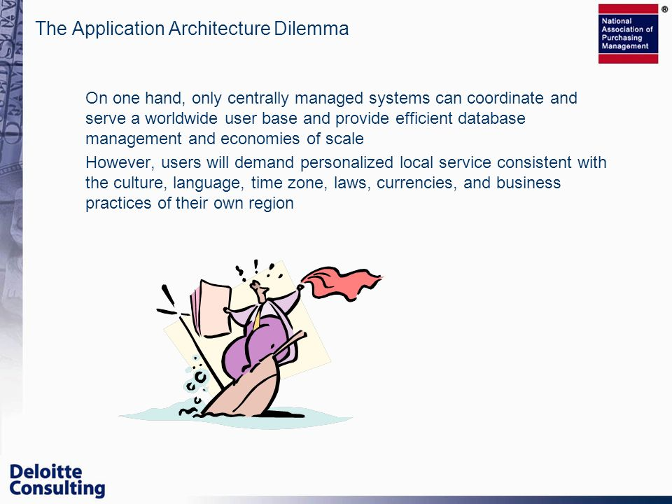 The Application Architecture Dilemma