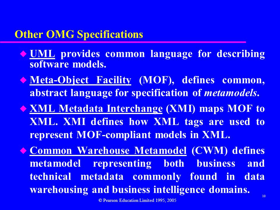 Other OMG Specifications