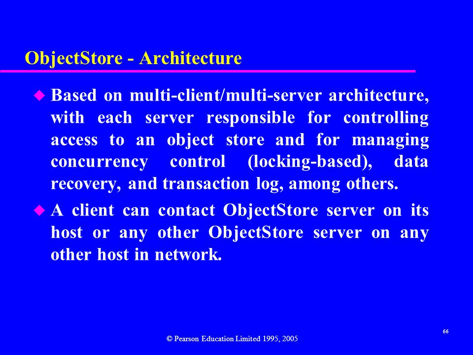 ObjectStore - Architecture