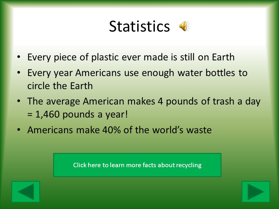 Click here to learn more facts about recycling