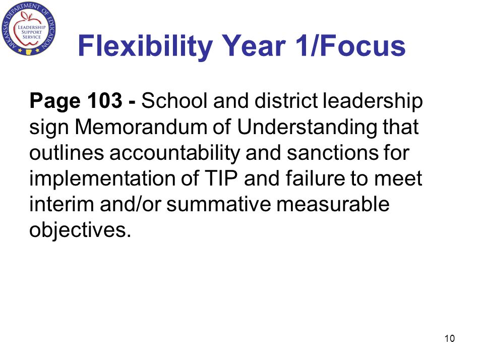 Flexibility Year 1/Focus