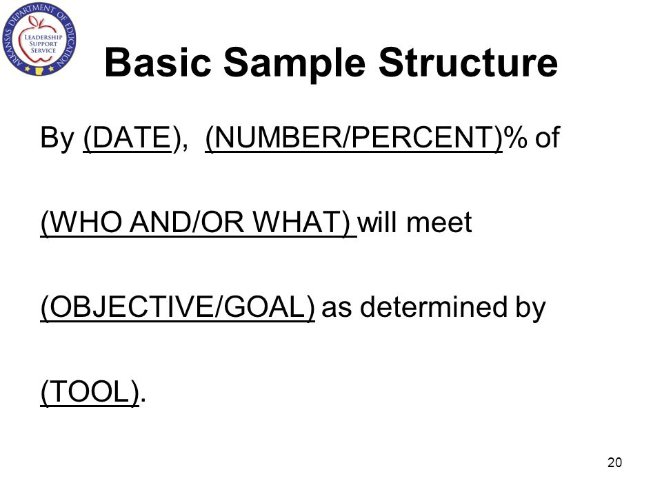Basic Sample Structure