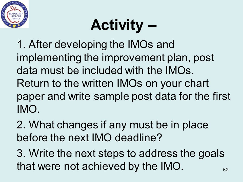 Activity –
