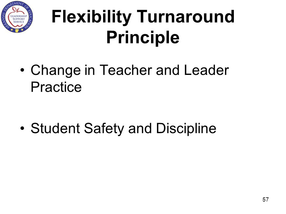 Flexibility Turnaround Principle