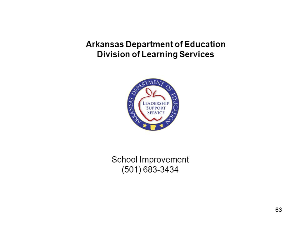 School Improvement (501) 683-3434