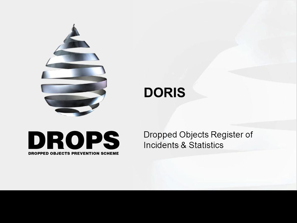 Dropped Objects Register of Incidents & Statistics
