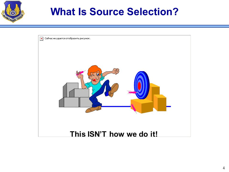 What Is Source Selection