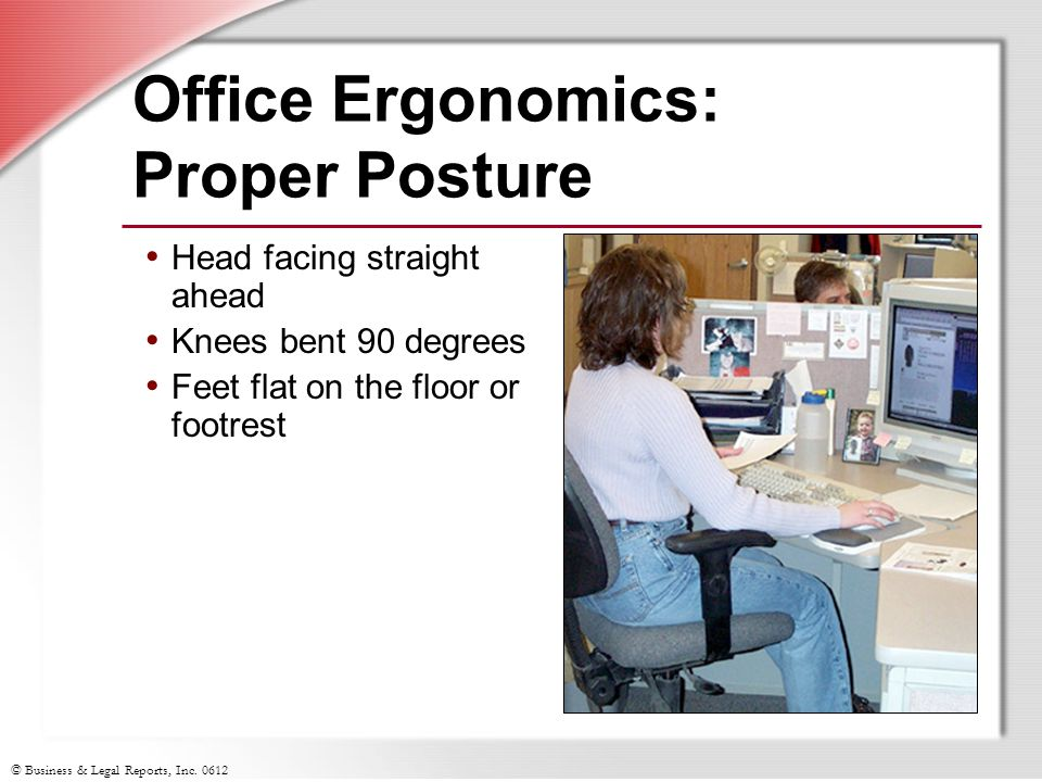 Office Ergonomics: Proper Posture