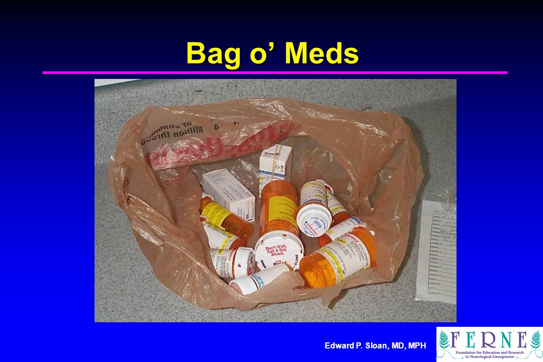 Bag o' Meds