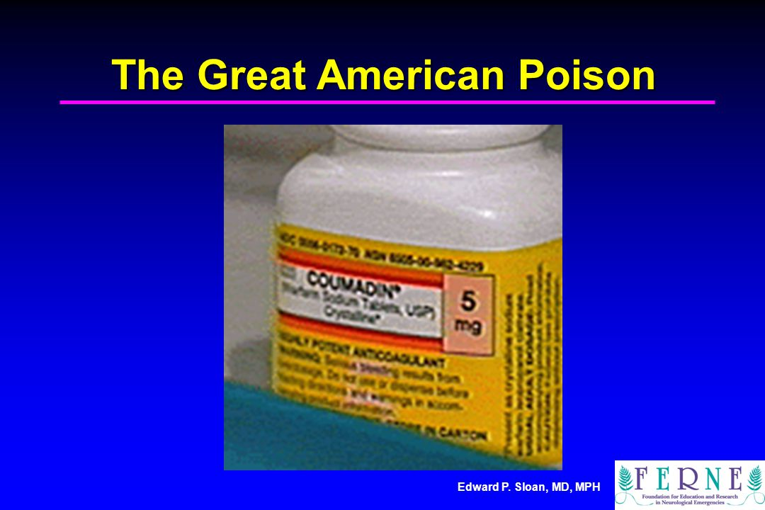 The Great American Poison