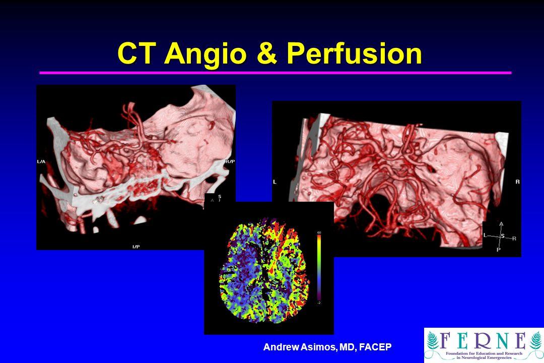 CT Angio & Perfusion