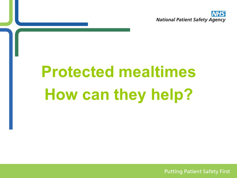 Protected mealtimes How can they help