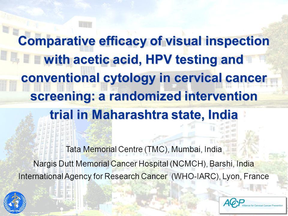 IARC's Cervical Screening Progamme - Cairo