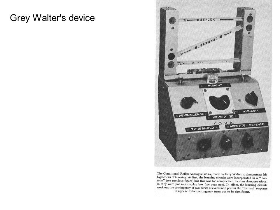 Grey Walter s device
