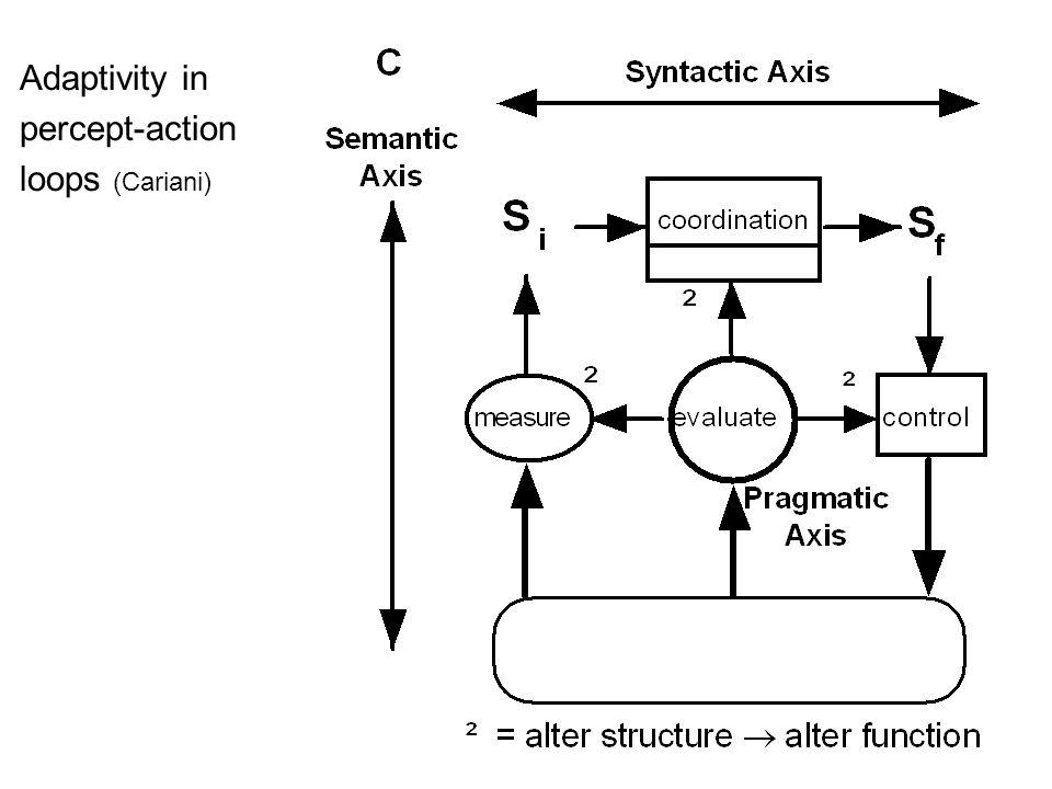 Adaptivity in percept-action loops (Cariani)