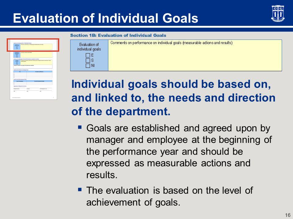 Evaluation of Behaviors