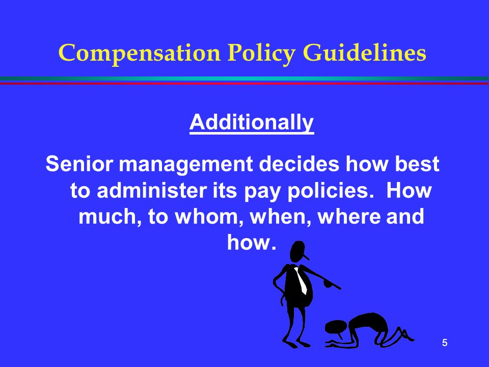 Compensation Policy Guidelines