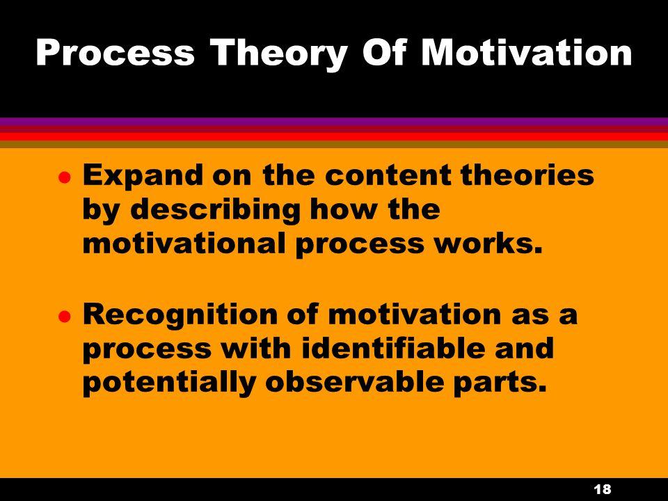 Process Theory Of Motivation