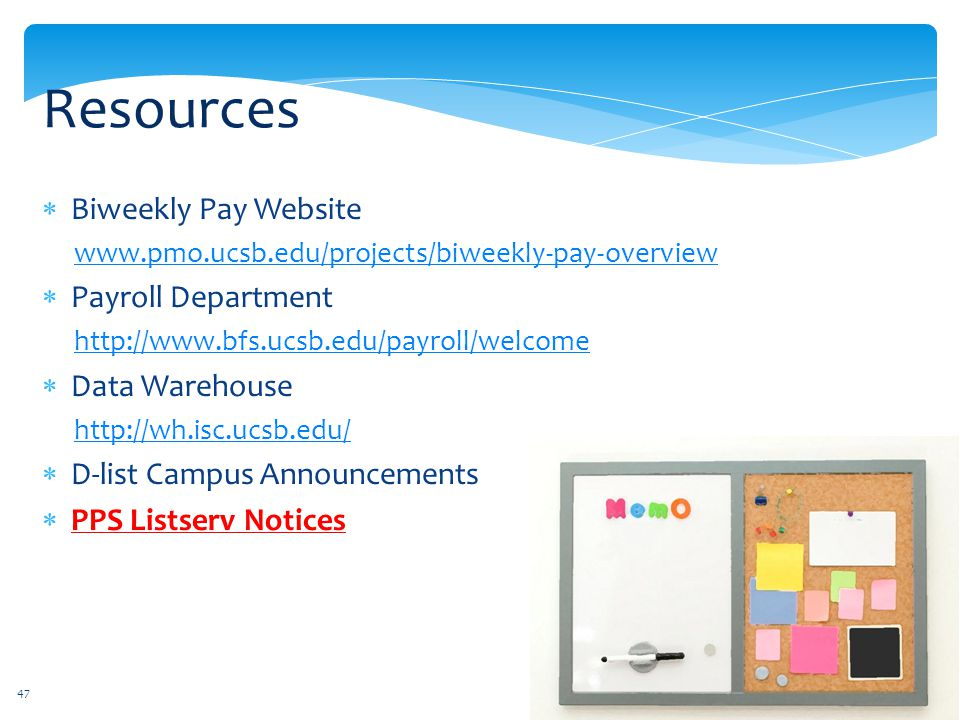 Resources Biweekly Pay Website Payroll Department Data Warehouse