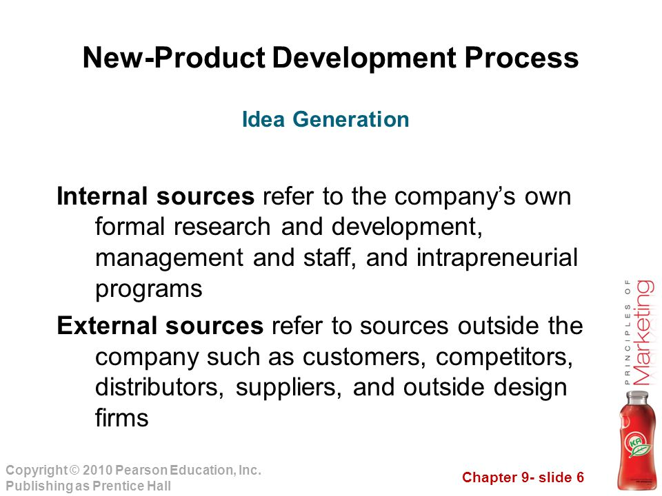 sources of new product ideas pdf