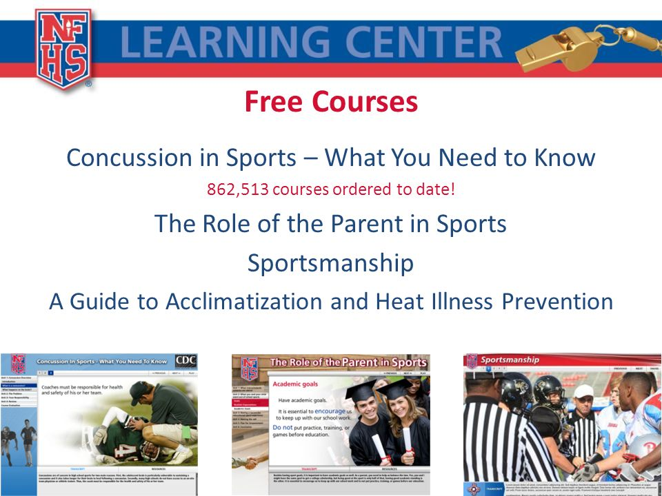 Free Courses Concussion in Sports – What You Need to Know