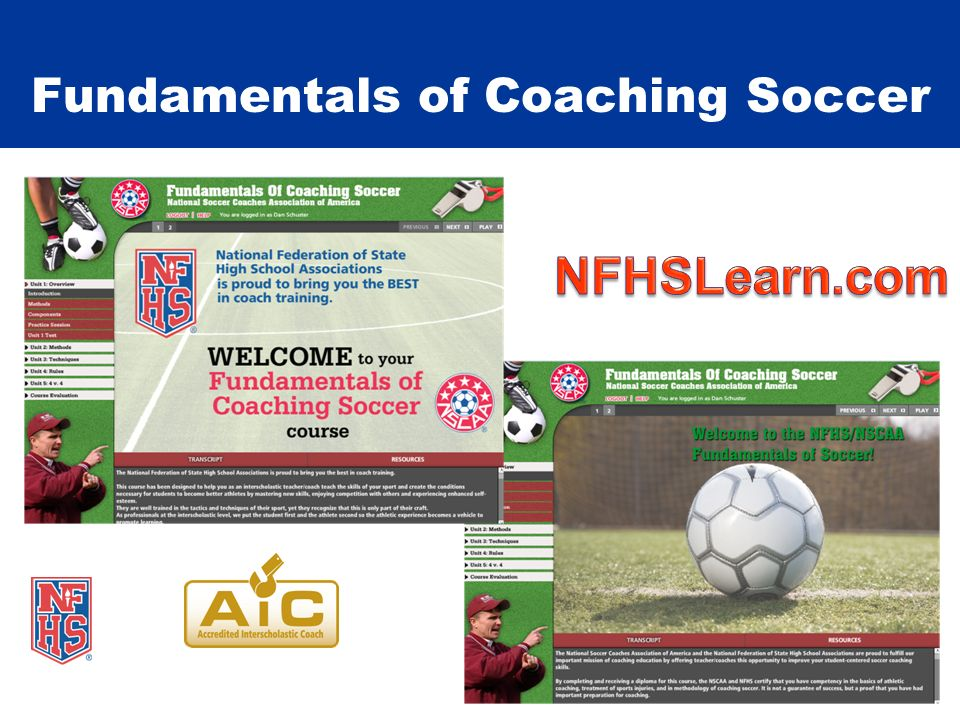 Fundamentals of Coaching Soccer