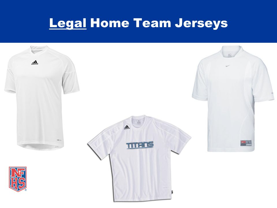 Legal Home Team Jerseys