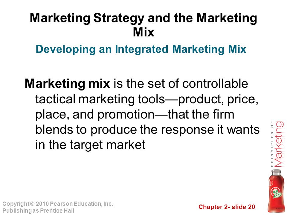 Marketing Strategy and the Marketing Mix