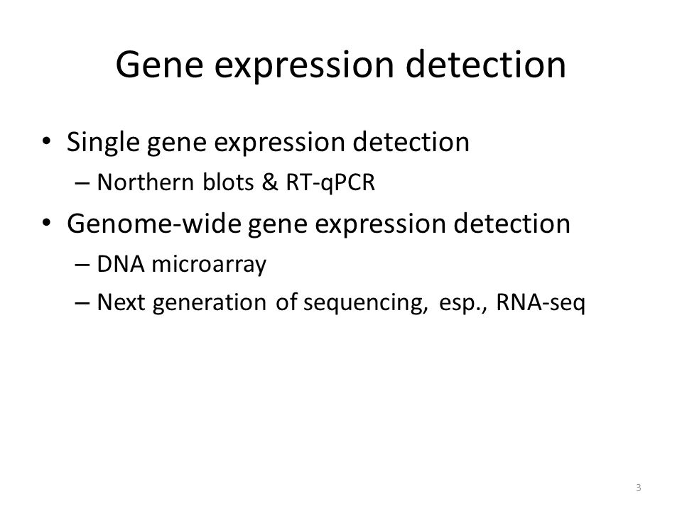 Gene expression detection