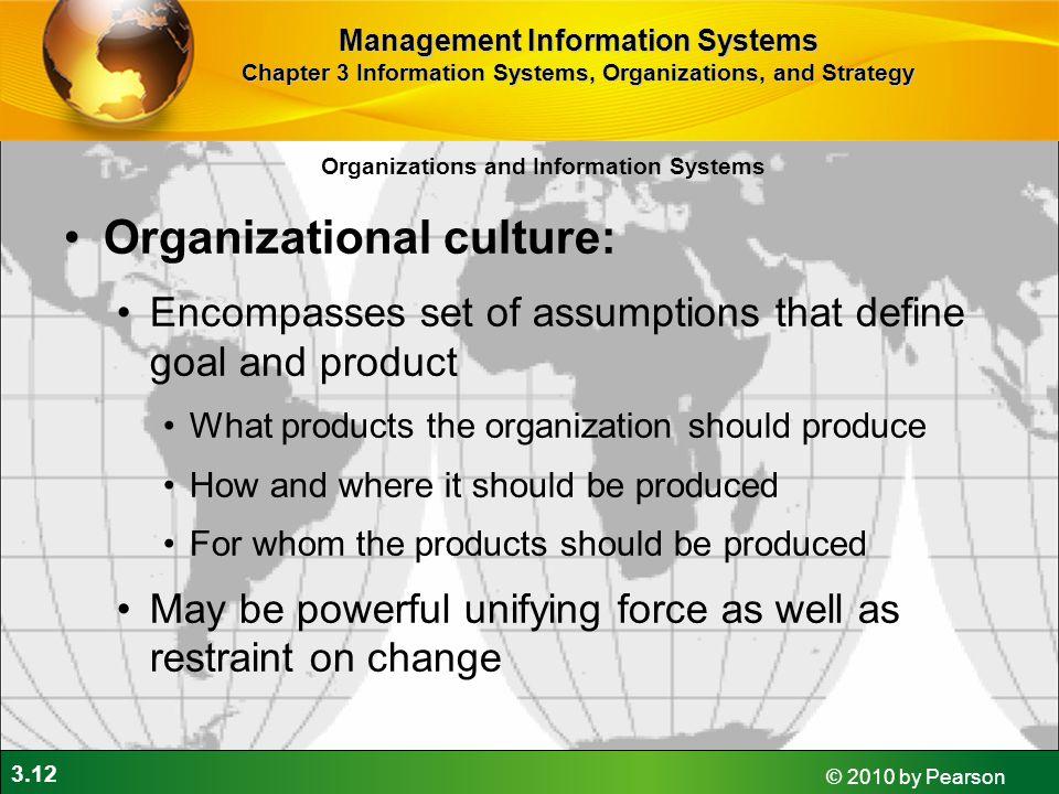 Organizational culture: