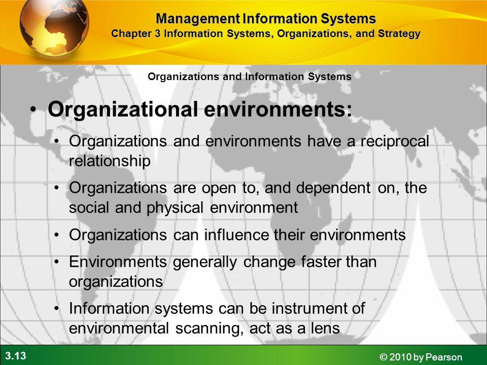 Organizational environments: