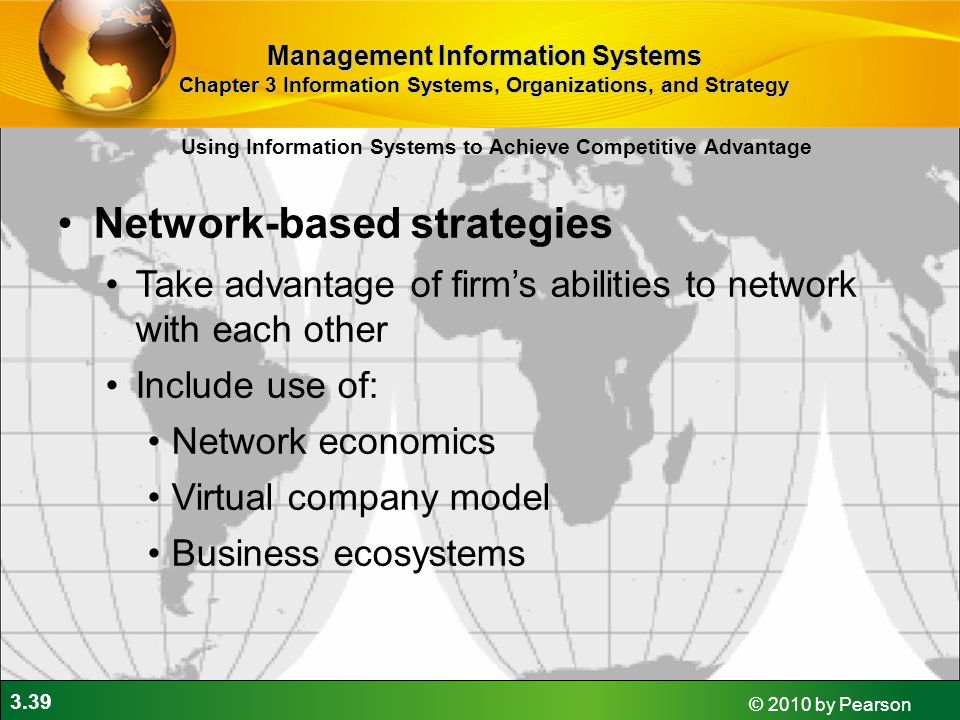 Network-based strategies