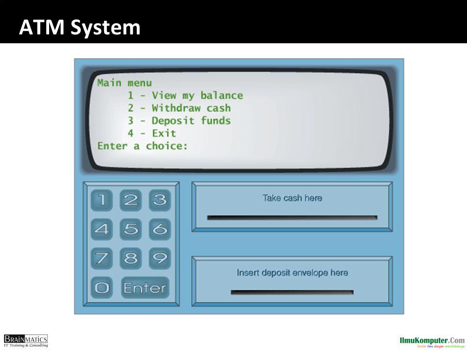 ATM System