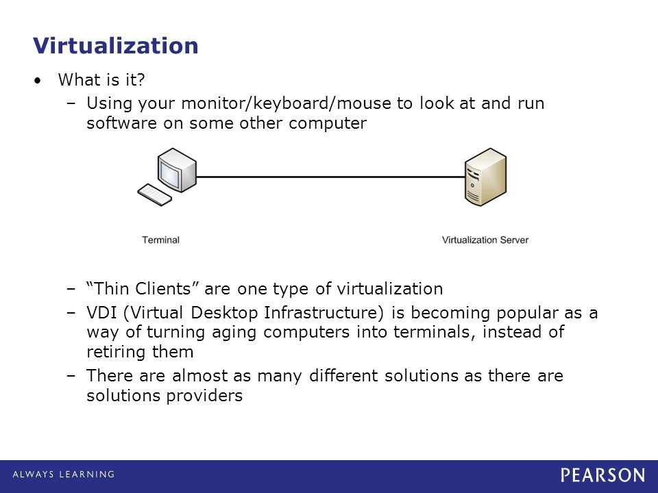 Virtualization What is it
