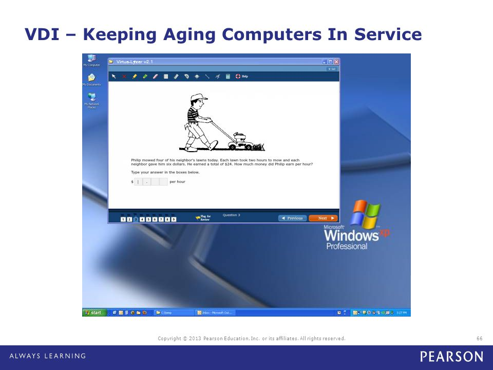 VDI – Keeping Aging Computers In Service