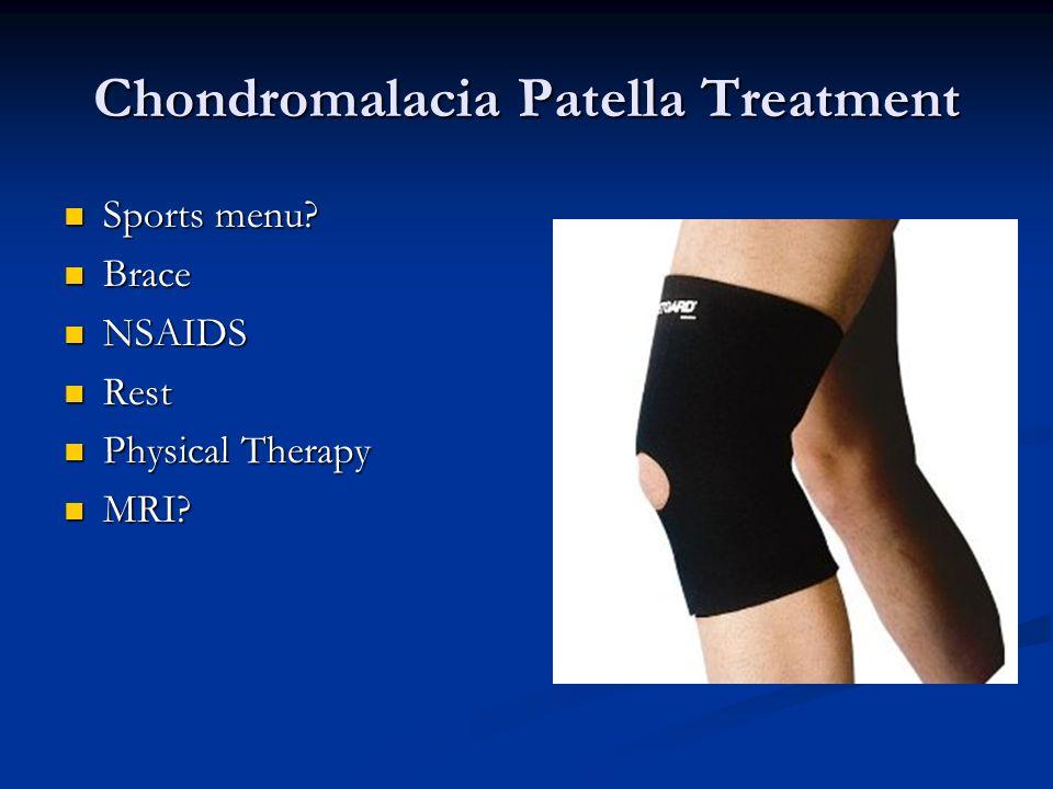 Chondromalacia Patella Treatment