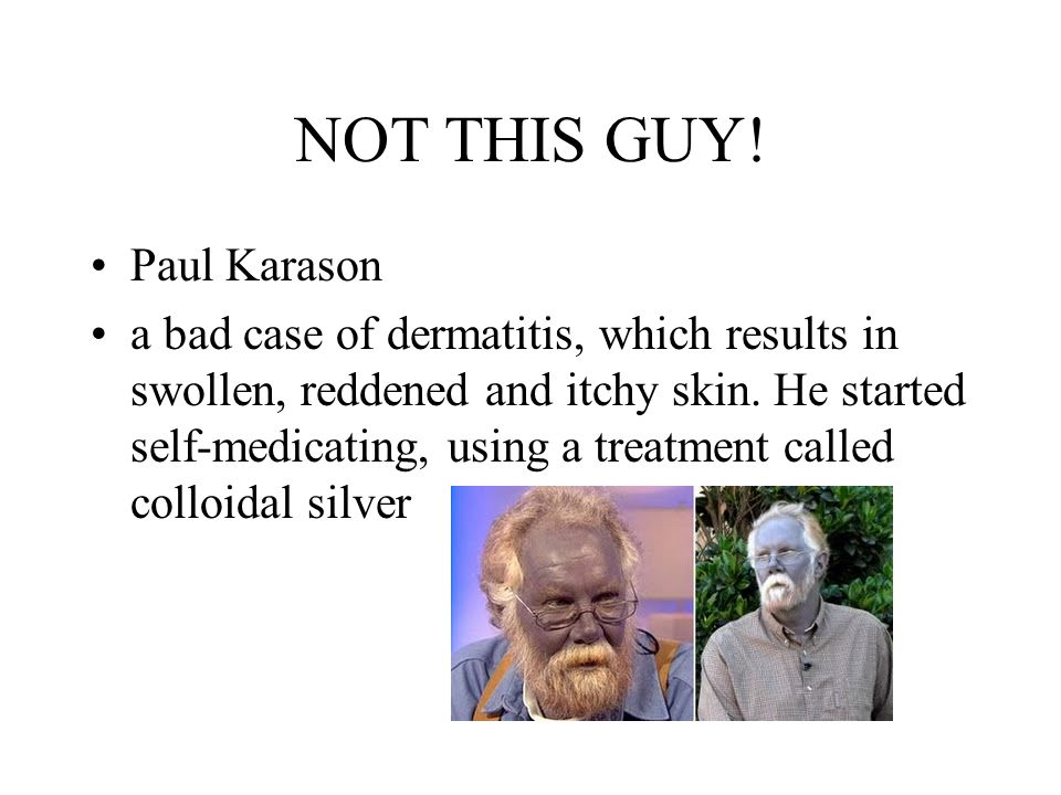 NOT THIS GUY! Paul Karason