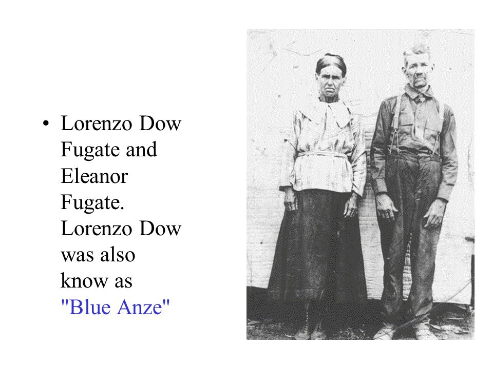Lorenzo Dow Fugate and Eleanor Fugate