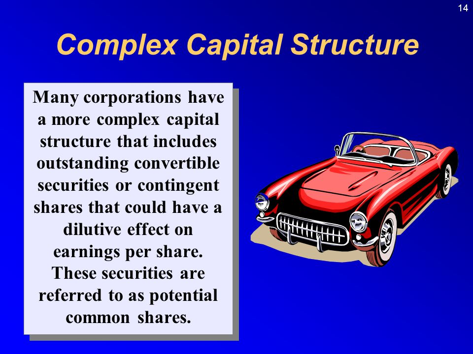 Complex Capital Structure