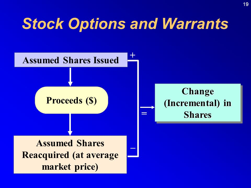 Stock Options and Warrants