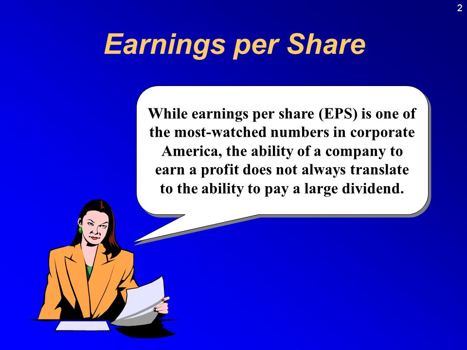2 Earnings per Share.