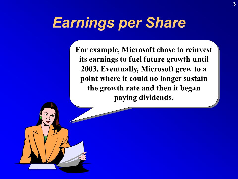 3 Earnings per Share.