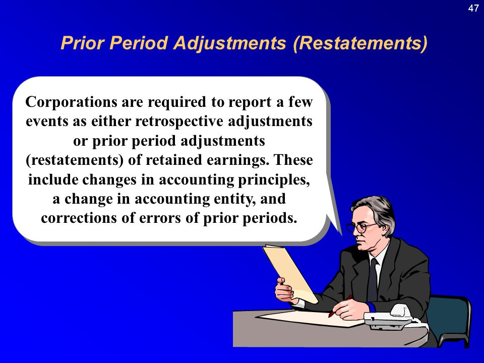 Prior Period Adjustments (Restatements)