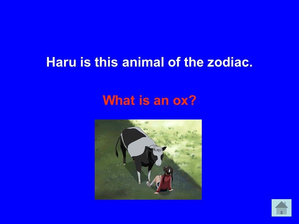 Haru is this animal of the zodiac.