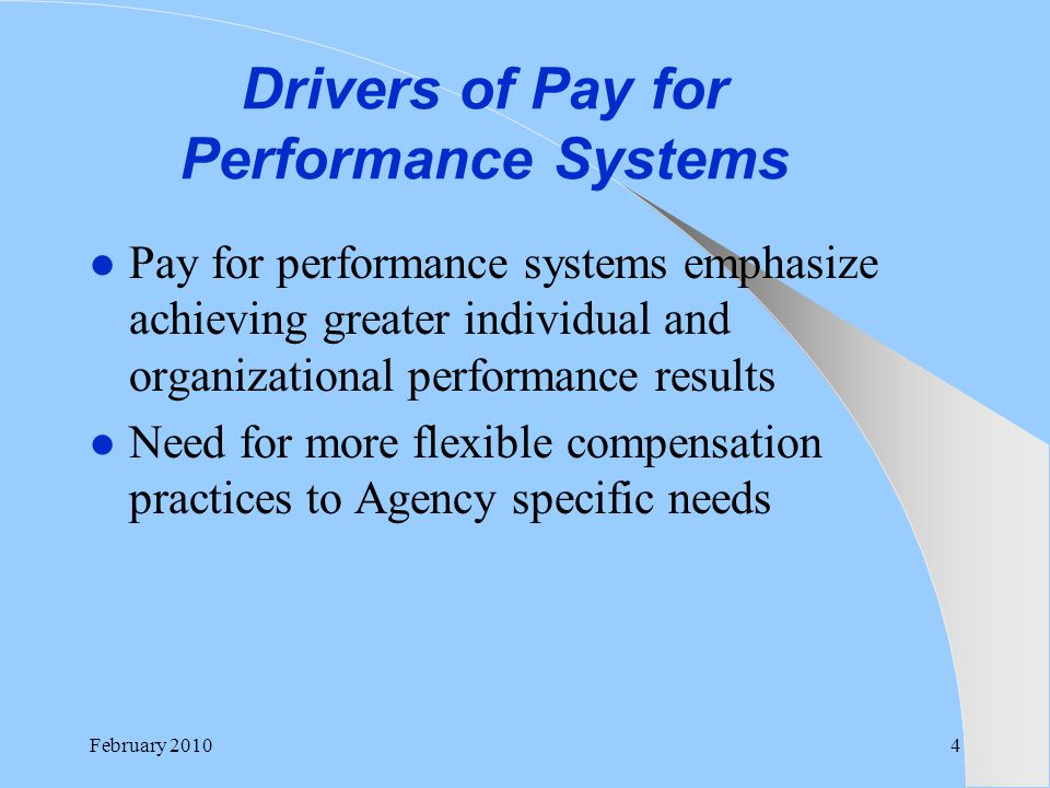 compensation management and agents performance Tie comp and performance management to attract and keep employees a pay for performance system looks not only at your performance level but also at your compensation level as well by mark a szypko september 14, 2016.