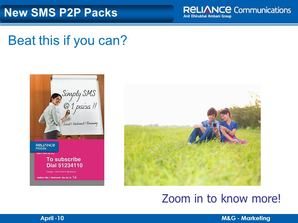New SMS P2P Packs Beat this if you can Zoom in to know more!