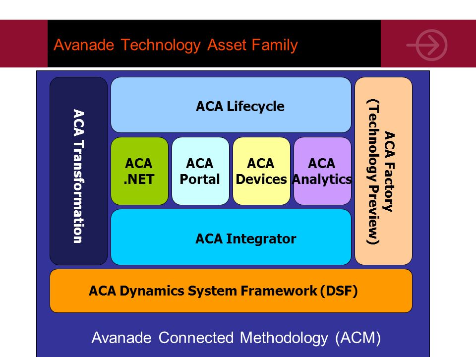 Avanade Technology Asset Family